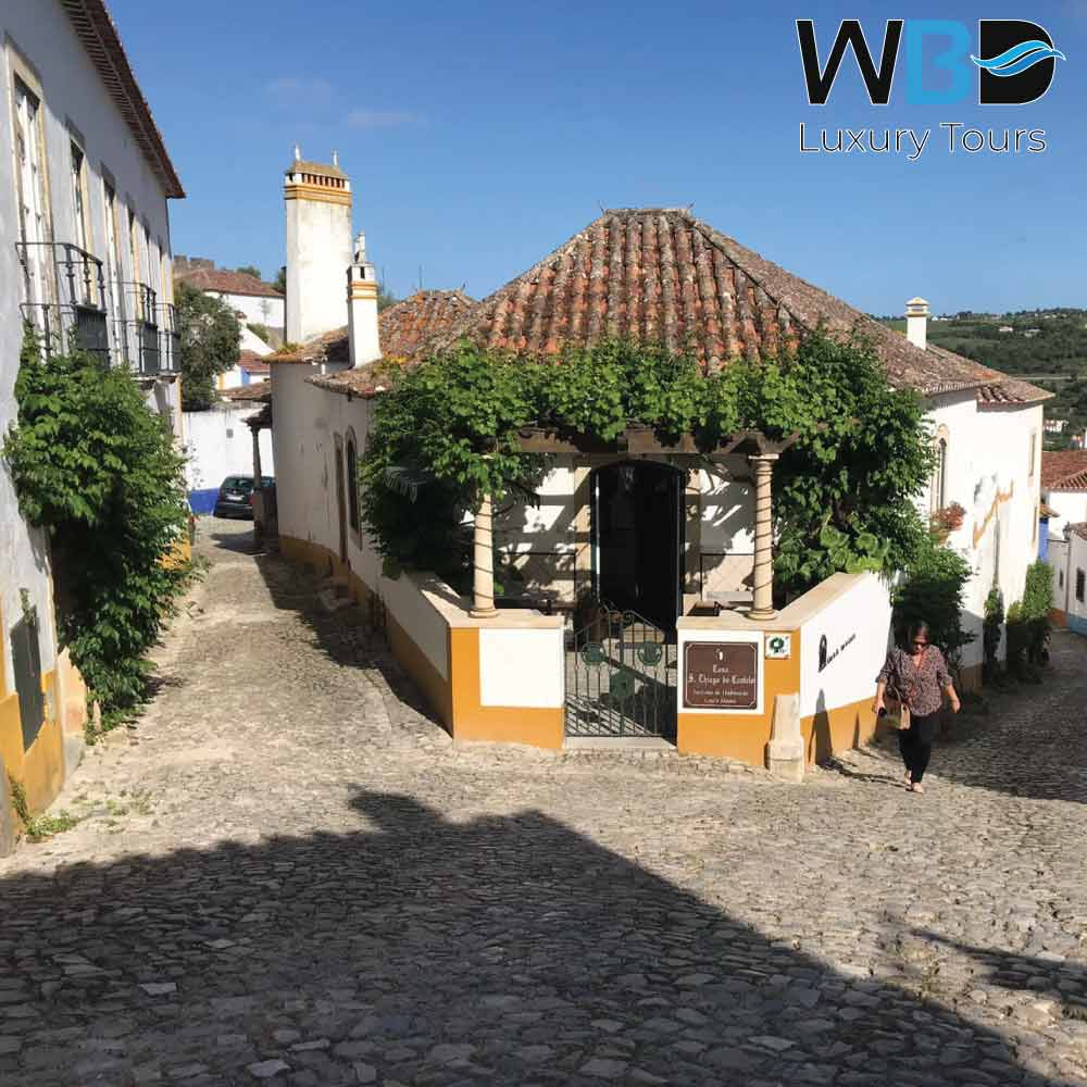 The medieval village of Obidos 1