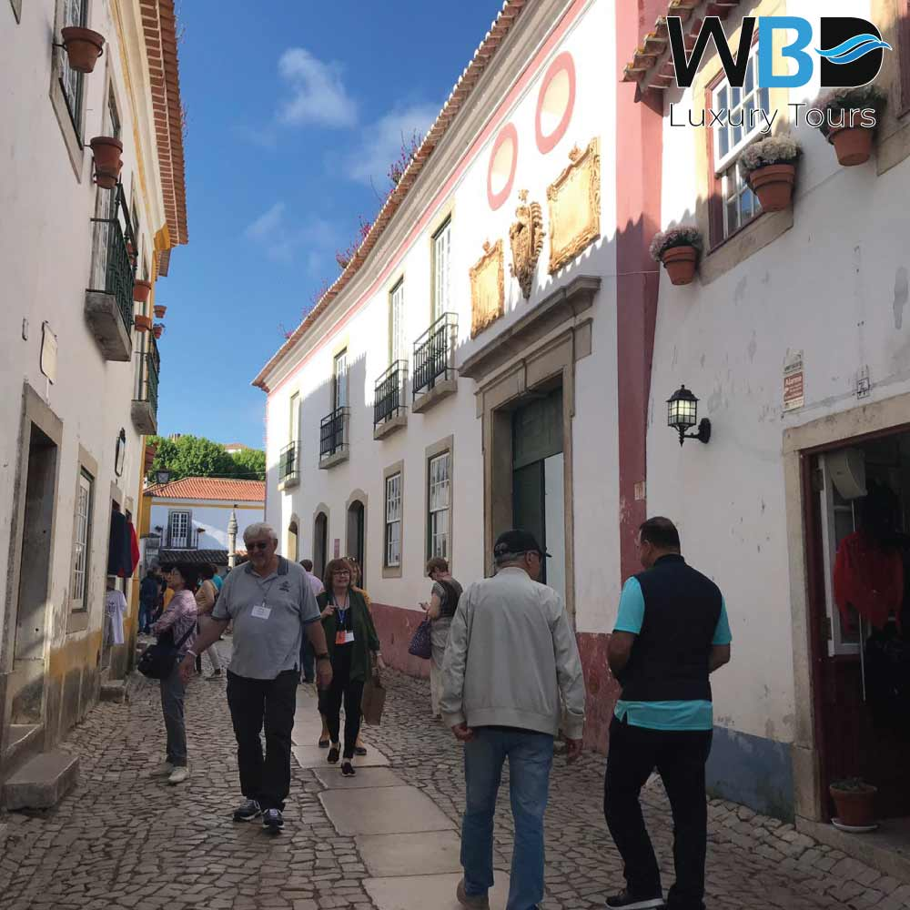 The medieval village of Obidos 2
