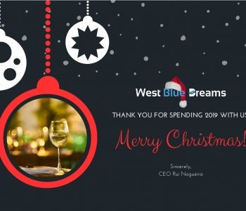 Feliz Natal 2019 com a West Blue Dreams Tailored Tours