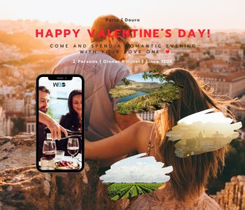 Happy Valentine's day in Porto city - West Blue Dreams Tailored Tours